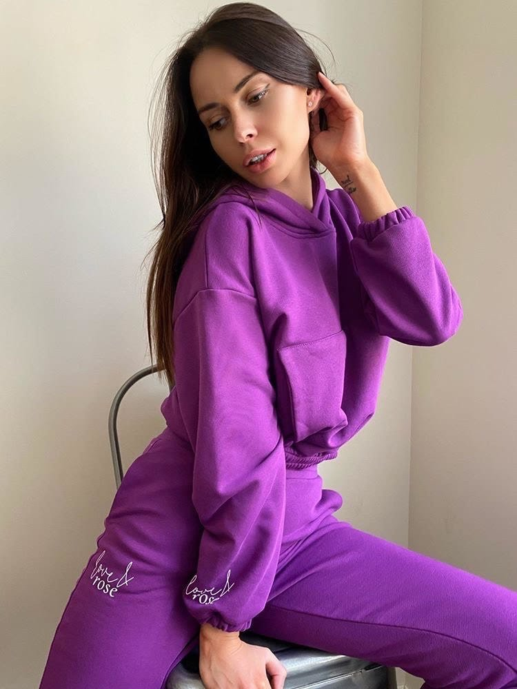 Naomi purpule Sweatpants